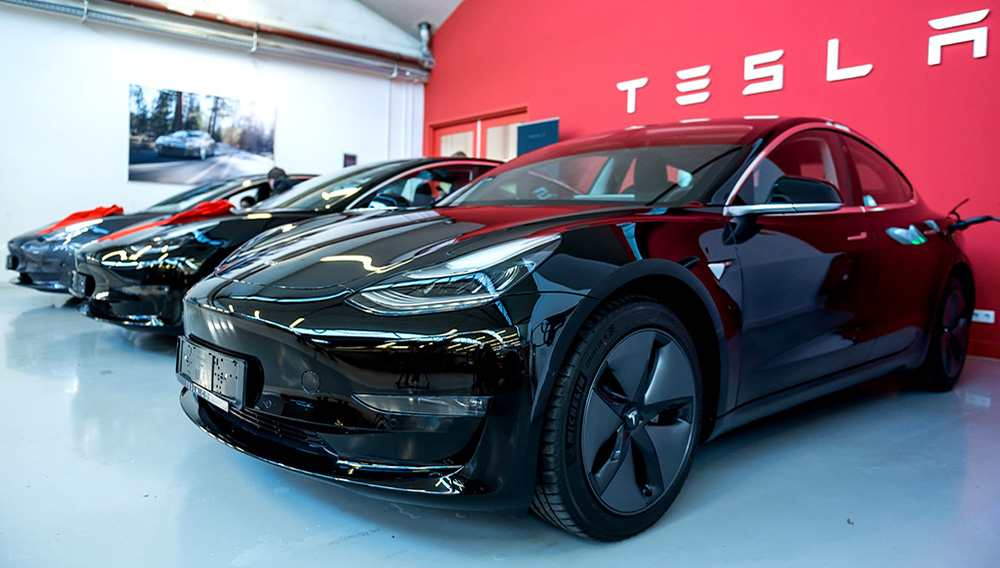 Tesla Model 3 | Photo: Silas Stein/picture alliance/Getty Images