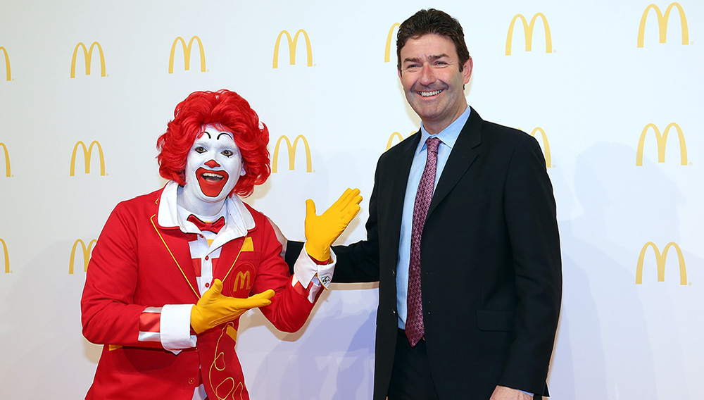 McDonald's board of directors voted on Easterbrook's departure Friday after conducting a thorough review. Credit: GETTY IMAGES - GETTY