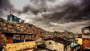 Favela da grota, uma das comunidades do complexo do Alemao. Foto: Bruno Itan