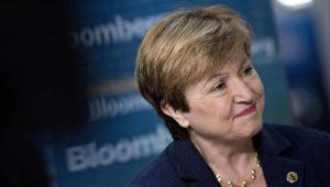 Kristalina Georgieva. Photo: Bloomberg
