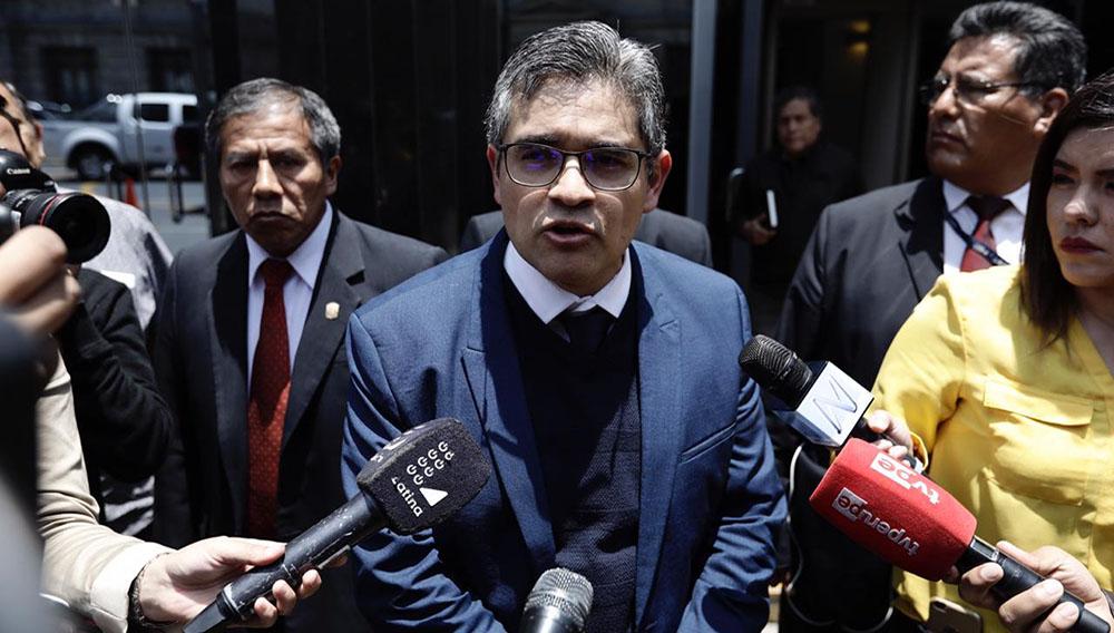 Domingo Pérez arremete contra presidente del Poder Judicial tras opiniones por caso Odebrecht. Foto: Ángela Ponce (Diario Ojo)