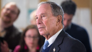 Former New York City Mayor Michael Bloomberg in January 2019. (Photo by Scott Eisen/Getty Images)