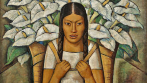 Alfredo Ramos Martínez, Calla Lily Vendor (Vendedora de Alcatraces), 1929. Private collection. The Alfredo Ramos Martínez Research Project, reproduced by permission.