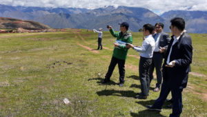Corea del Sur realizó primeros estudios para el futuro Aeropuerto Internacional de Chinchero. Foto: MTC Perú.