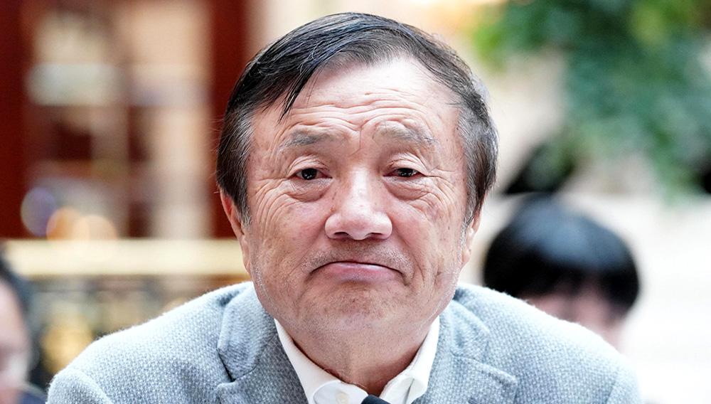 Huawei CEO Ren Zhengfei.The Asahi Shimbun/The Asahi Shimbun via Getty Images