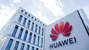 View of the Huawei Germany headquarters. Despite political concerns, the Chinese telecommunications group Huawei will in future be able to play a major role in the expansion of the German 5G mobile communications network. Rolf Vennenbernd | picture alliance | Getty Images