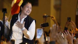 Keiko Fujimori, la líder de la oposición en Perú. Foto: EFE