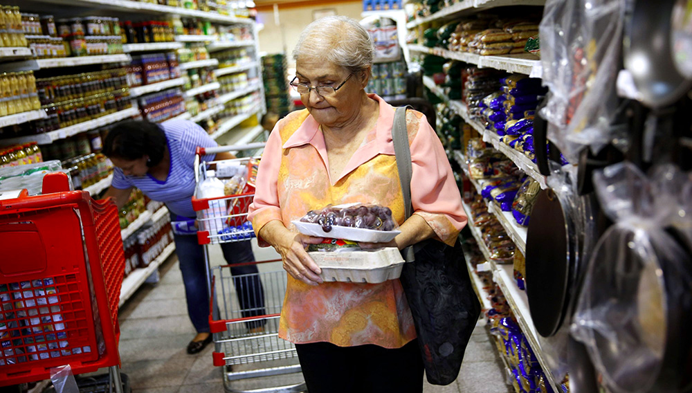The BBC estimates Venezuelan inflation to be over 300 per cent this year; the International Monetary Fund says 51 per cent - a significant disparity. Photo: Reuters