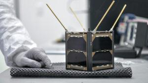 El proyecto se denomina AzTechSat-1 (AS1), en alusión a nuestra cultura Azteca (Az) y también constituye un reto Tecnológico (Tech, por sus siglas en inglés) del primero de varios proyectos Satelitales (Sat-1) con la Administración Nacional de la Aeronáutica y del Espacio (NASA, por sus siglas en inglés). Foto: upaep.mx