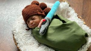 AdventHealth for Women de Orlando (Florida) vistió a los recién nacidos como personajes de Star Wars. Foto: AdventHealth for Women
