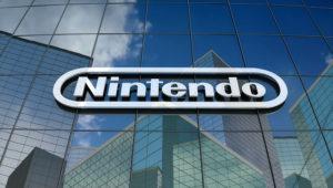 Nintendo Co., Ltd. Logo On Glass Building. | pond5.com