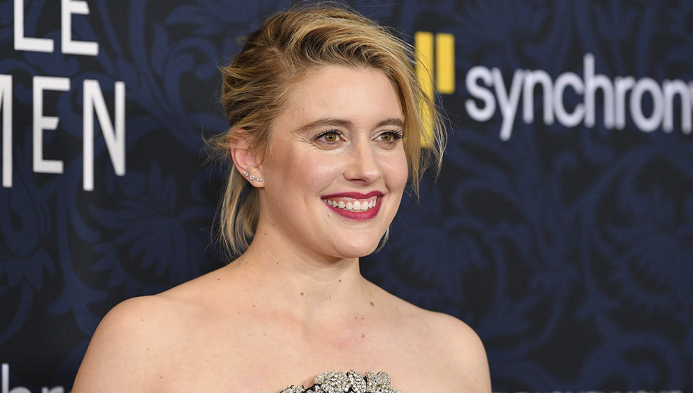 "Greta Gerwig, director of ""Little Women,"" at the film's premiere in New York last month. Credit: Dia Dipasupil/Getty Images"