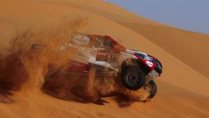 Rallying - Dakar Rally - Stage 7 - Riyadh to Wadi Al Dawasir - Riyadh, Saudi Arabia - January 12, 2020 Toyota Gazoo Racing's Fernando Alonso and Marc Coma during stage 7 REUTERS/Hamad I Mohammed