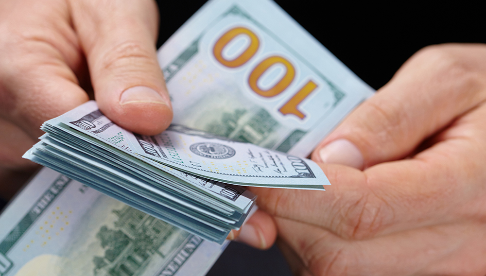 US Dollar. Photo: Shutterstock