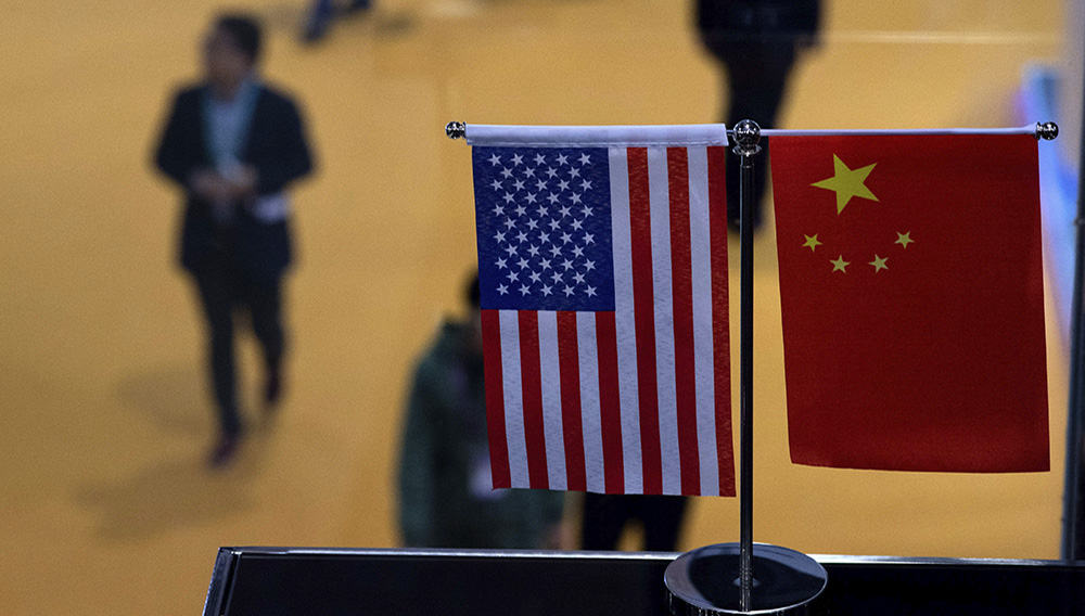 A Chinese delegation led by Vice Premier Liu He is set to hold talks in Washington on Thursday and Friday aimed at salvaging a trade deal. JOHANNES EISELE/AFP/GETTY IMAGES