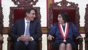 Presidenta del Tribunal Constitucional de Perú, Marianella Ledesma Narváez. Foto: Presidencia Perú (Flickr)