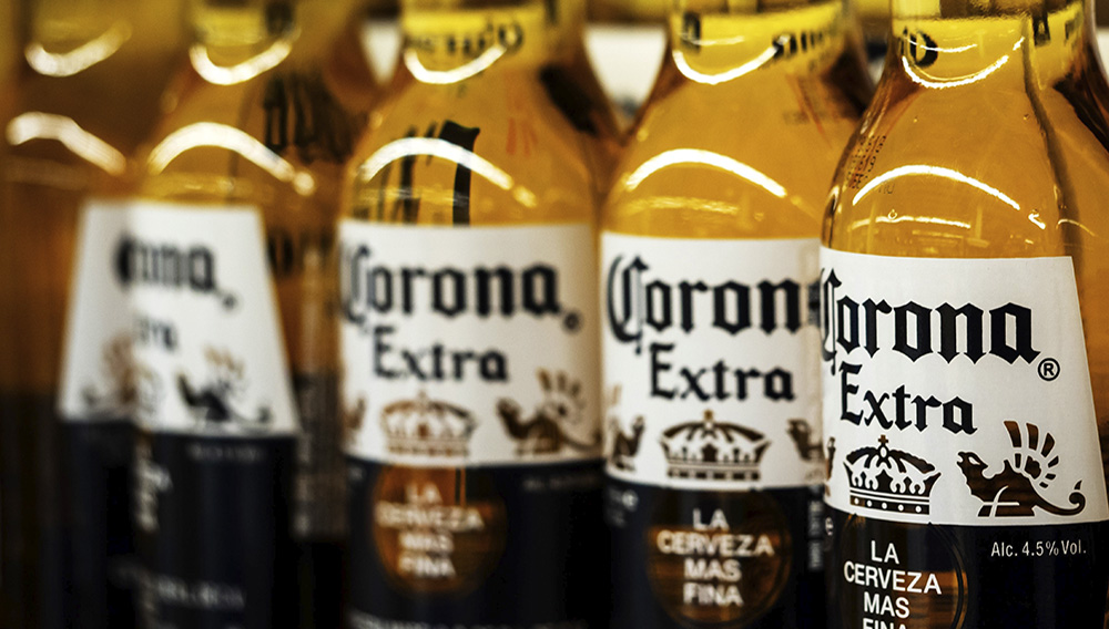 Corona sales have dropped significantly in China (Picture: Getty)
