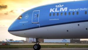 Avión de KLM. Photo: Andres Bolkenbaas