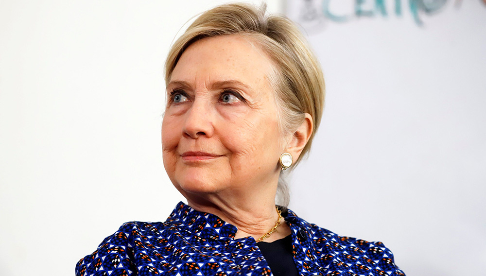 Clinton shut down rumors she was going to run as Bloomberg's VP. | Credit: Alamy Live News