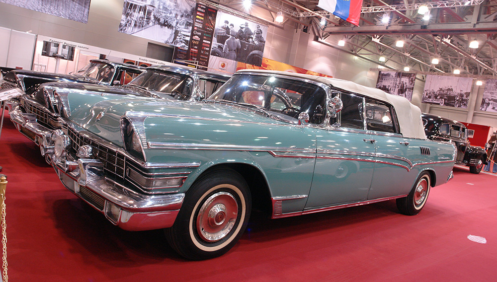Here's the ZIL 111V that was used to parade the world's first Cosmonaut, Yuri Gagarin after his return from space. Photo: The new trail of tears (Flickr)