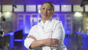 Irina Concepcion Herrera has participated throughout her career as an ambassador chef for the 'Restaurants Against Hunger' campaign. Photo: Roberto Garver