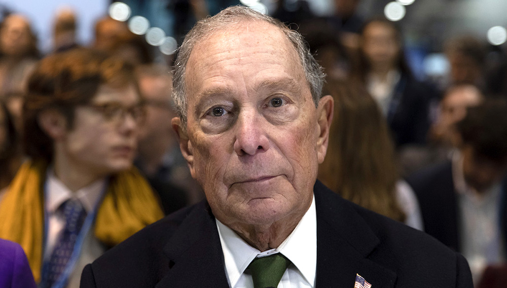 Democratic presidential candidate for US and former New York City Mayor Michael Bloomberg attends an event at the COP25 Climate Conference on December 10, 2019 in Madrid, Spain. (Photo by Pablo Blazquez Dominguez/Getty Images)