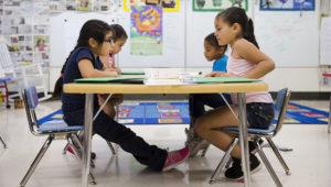 File photo, July 21, 2014, at Mary D. Lang Kindergarten Center in Kennett Square, Pa. Matt Rourke / AP file