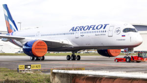 Aeroflot - Russian Airlines. 13th January 2020. Photo: Clément Alloing.