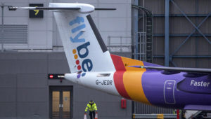 Flybe was given a reprieve last night after ministers agreed a multimillion-pound rescue deal to prevent the regional airline's collapse. Photo: Getty Images