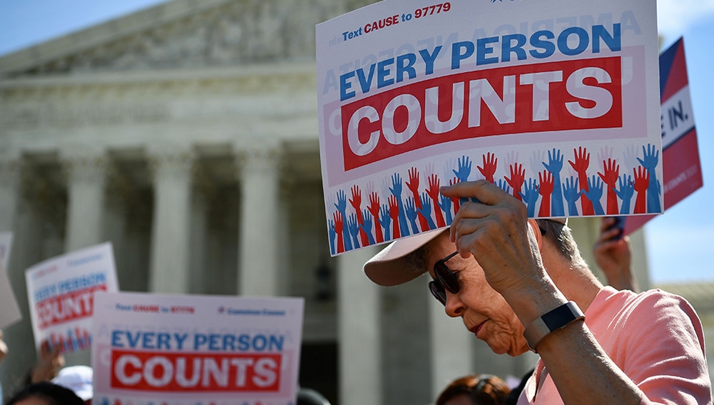 Demonstrators rally at the US Supreme Court in Washington. MANDEL NGAN GETTY IMAGES