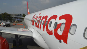 A new Airbus A320neo operated by Avianca. (Credit: Avianca)