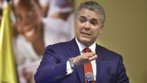 Iván Duque, presidente de Coloombia. Foto: RTVC Sistema de Medios Públicos.