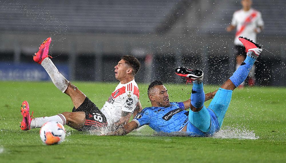 River se desquitó en la Libertadores y vapuleó 8-0 a Binacional. Foto: TyC Sports/Pinterest