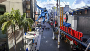 Universal Studios Hollywood and Universal CityWalk, the adjacent shopping, dining and entertainment center, will temporarily close amid the coronavirus outbreak. (Photo by Jeff Gritchen, Orange County Register/SCNG)