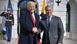 Fue una extraordinaria reunión y seguiremos trabajando conjuntamente en muchos de los temas bilaterales, dijo el Presidente Duque luego de encuentro con Trump. Foto: Efraín Herrera - Presidencia Colombia