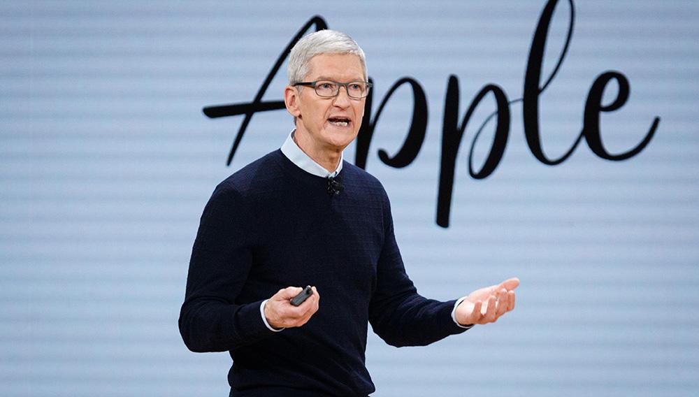 Tim Cook, CEO de Apple. Foto: John Gress Media Inc/Shutterstock
