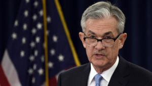 """Jerome Powell insisted that he did not think about """"short-term political considerations"""". SUSAN WALSH/AP"""