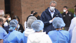 Mayor de Blasio will visit Richmond University Medical Center where the City is making a delivery of personal protective equipment (PPE). | Photo: Flickr