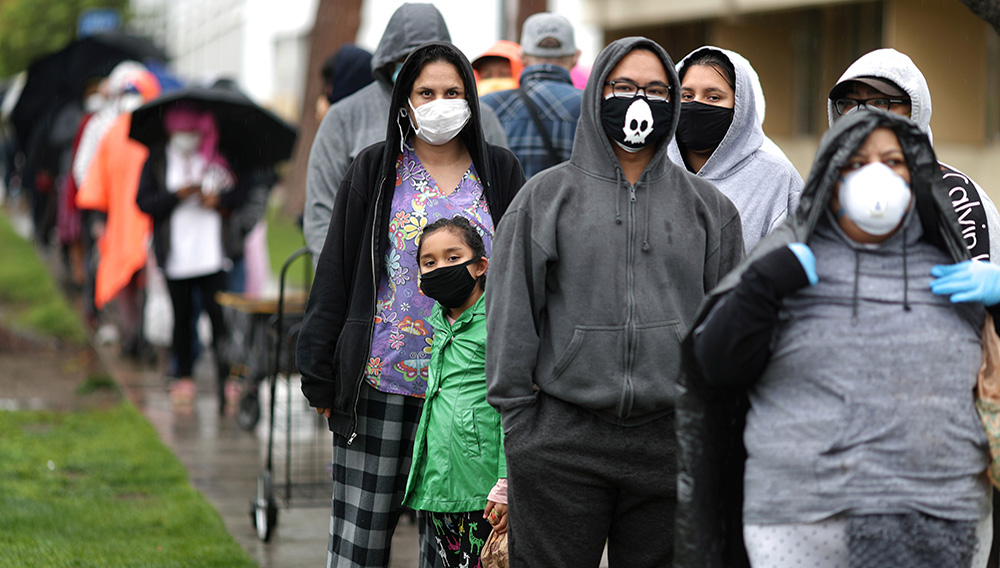 More than half of the Los Angeles County workforce has reported losing their jobs because of the coronavirus outbreak. | Credit: Reuters