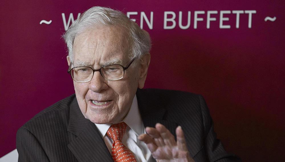 Warren Buffett, chairman and CEO of Berkshire Hathaway. (Nati Harnik)