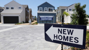 Newly constructed single family homes are shown for sale in Encinitas, California, July 31, 2019. PHOTO: Mike Blake | Reuters