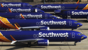 The plaintiff in the lawsuit against Southwest Airlines is seeking class-action status. (Mario Tama/Getty Images)