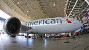 American Airlines 777 Maintenance Bay. 17 de agosto de 2019. | Photo: Kev Cook (Flickr)