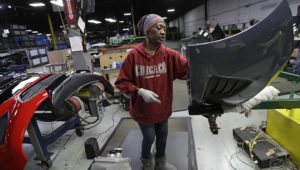 General Motors is expected to recall workers to three of its North American parts plants in anticipation for the start of production at its auto plants the week of May 18. | Tony Dejak/The Associated Press.