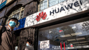 US officials have repeatedly accused Huawei of stealing American trade secrets. AFP/File / NICOLAS ASFOURI
