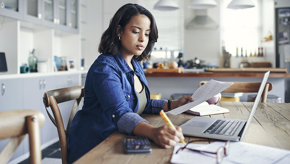 For the most part, working from home has gone mainstream in North America. | Getty Images