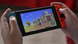Games like Nintendo's Animal Crossing gained ground during the virus lockdowns, helping to fuel record sales in the sector in the United States, according a market trackers. PHOTO: AFP/File / William WEST
