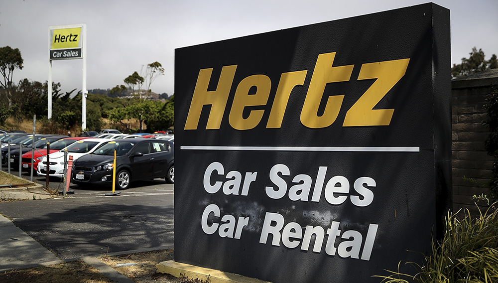 Established in 1918 with only a dozen cars, the global car rental giant had survived the Great Depression and numerous American recessions. PHOTO: GETTY IMAGES NORTH AMERICA/AFP/JUSTIN SULLIVAN
