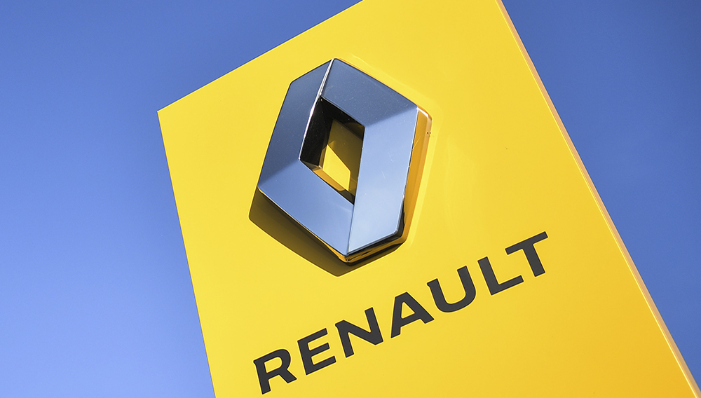 Renault is to cut nearly 15,000 jobs, including 4,600 at its core French operations, as it tries to regain its footing in the wake of plummeting car sales. AFP/File / LOIC VENANCE