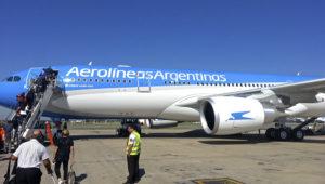 Avión de Aerolíneas Argentinas. | Flickr